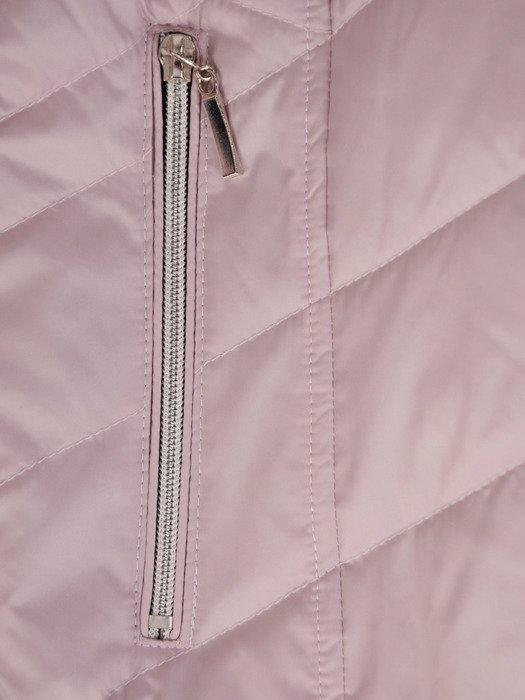 Pikowana kurtka z metalowymi suwakami 20136