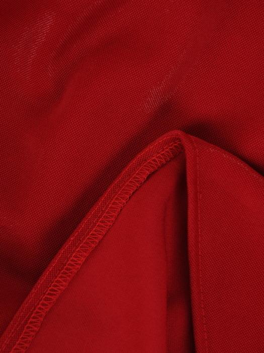 Rozkloszowana sukienka wizytowa, kreacja z połyskującej dzianiny 22475