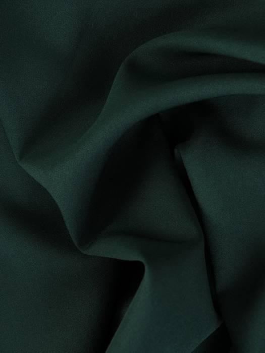 Rozkloszowana sukienka z paskiem, kreacja ze ściąganym kominem 27425