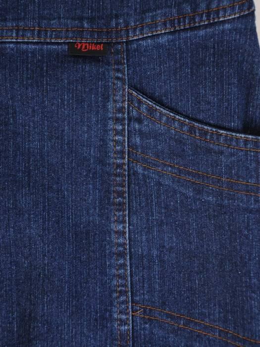 Spódnica dżinsowa z przeszyciami 29131