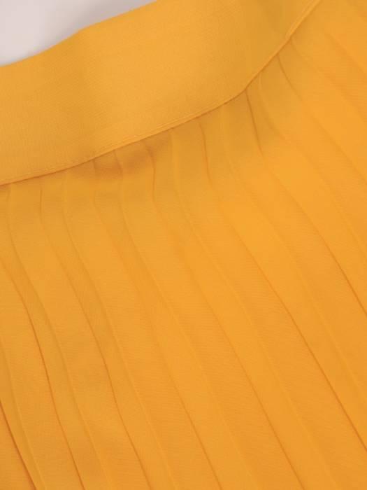 Spódnica z plisowanego szyfonu 29318