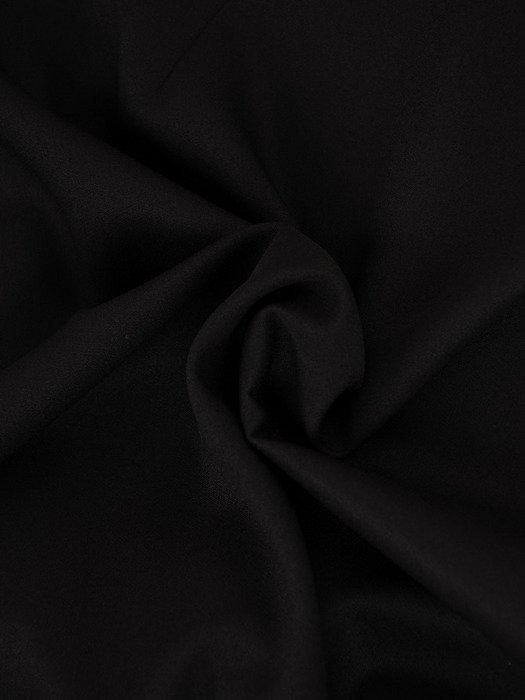 Sukienka 2w1 17631, czarna princeska z dzianinową narzutką.