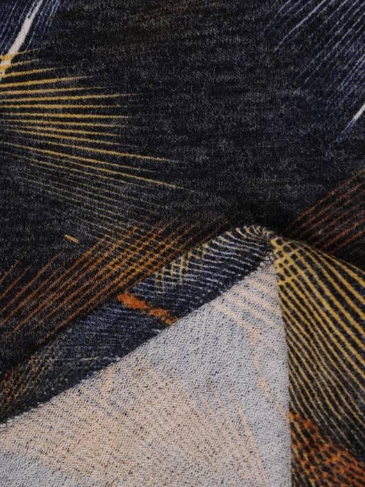 Sukienka codzienna, prosta kreacja w geometrycznym wzorze 27700