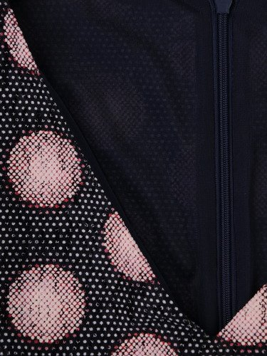 Sukienka damska 15735, nowoczesna kreacja w grochy.