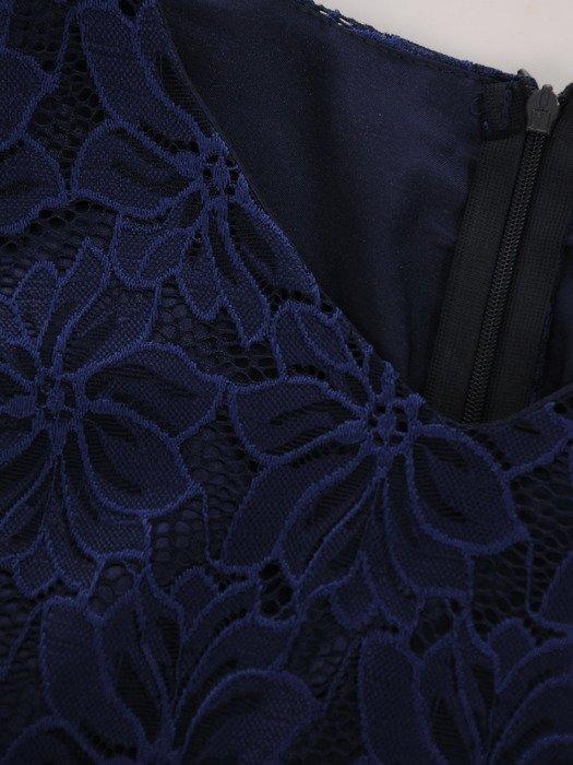 Sukienka damska 16919, koronkowa kreacja na wesele.