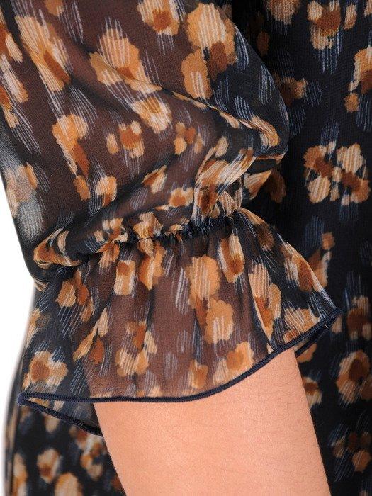 Sukienka damska 18809, zwiewna kreacja w kwiaty.