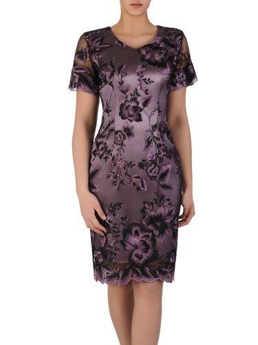 Sukienka damska Arleta III, elegancka kreacja na wesele.