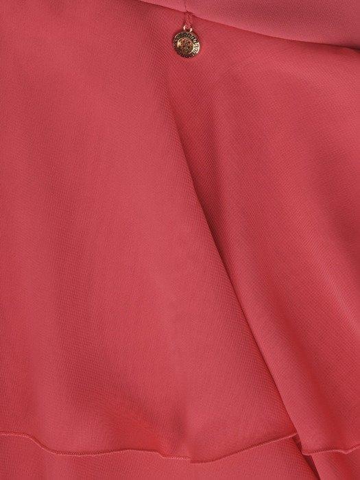 Sukienka damska Esmeralda IV, zwiewna kreacja z falbaną.