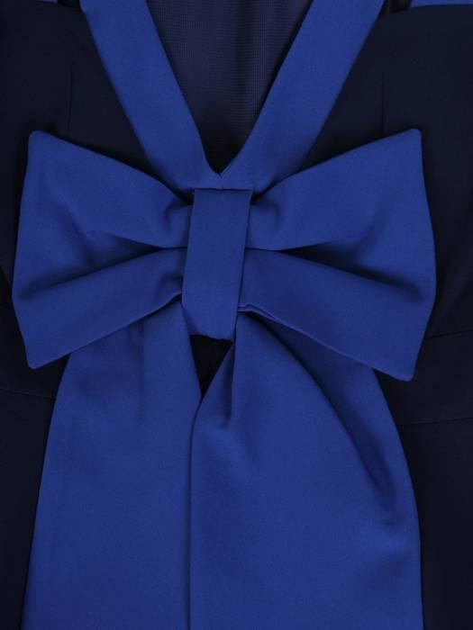 Sukienka damska, rozkloszowana kreacja z tkaniny 27470