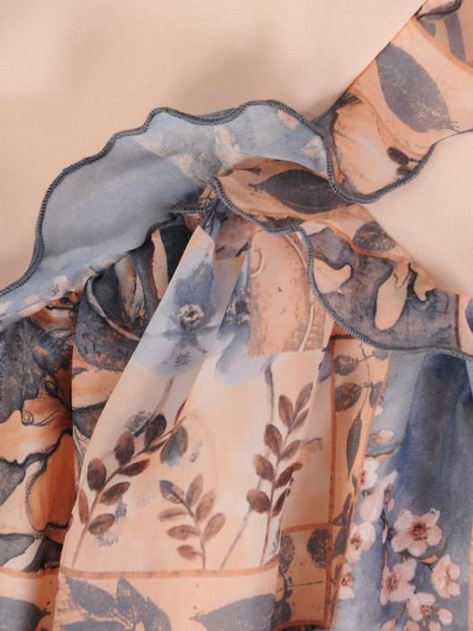 Sukienka damska z oryginalnym wzorem 28750