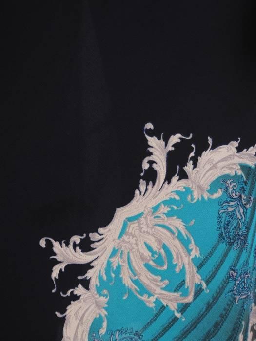 Sukienka damska z szyfonu, kreacja o wyszczuplającym wzorze 29575