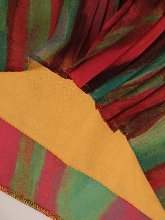 Sukienka letnia, prosta kreacja z szyfonu 26099