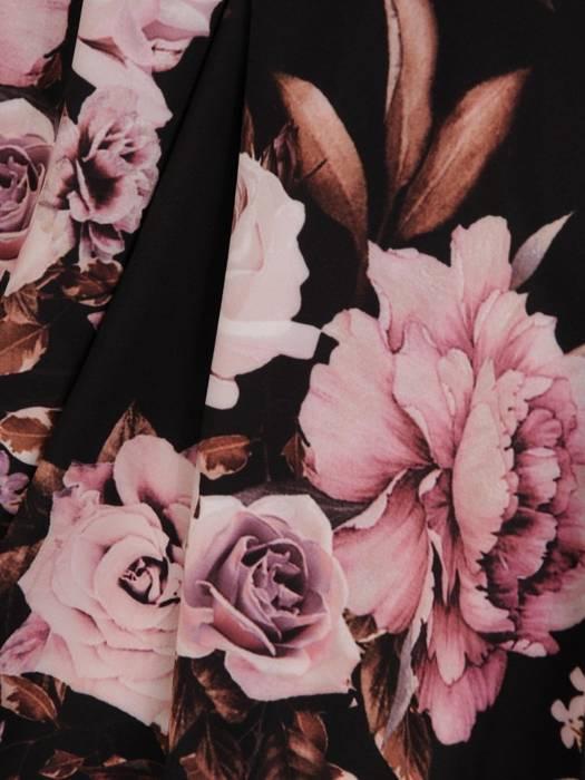 Sukienka maxi, elegancka kreacja z rozcięciem 27679