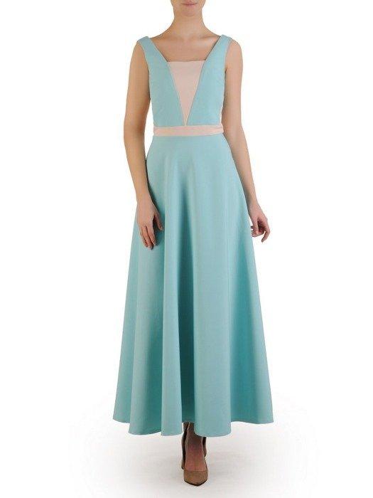 Sukienka maxi w nowoczesnym fasonie 24874