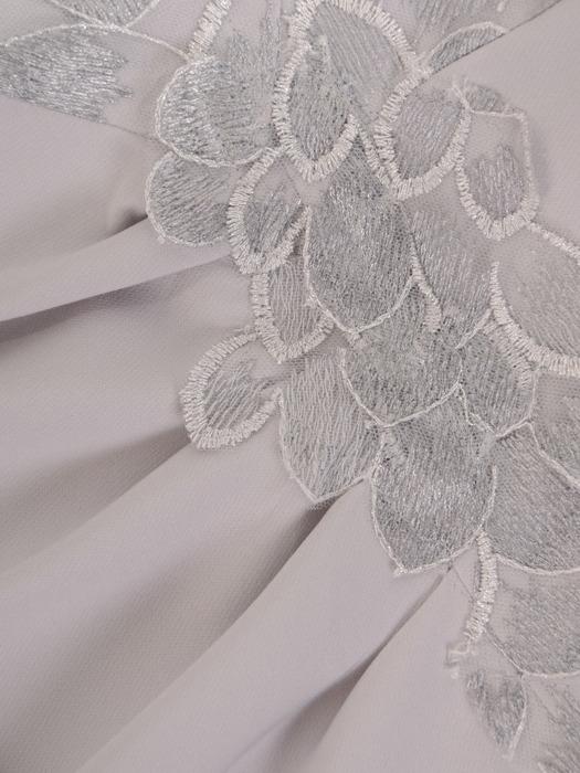 Sukienka na wesele, elegancka kreacja  z koronki i tkaniny 21536.