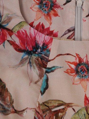 Sukienka tuba Mirona XVI, wyszczuplająca kreacja maskująca brzuch.