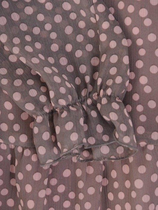 Sukienka w groszki, zwiewna kreacja na wiosnę 25681
