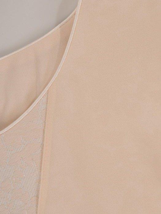 Sukienka wieczorowa, oryginalna kreacja z łączonych tkanin 25803