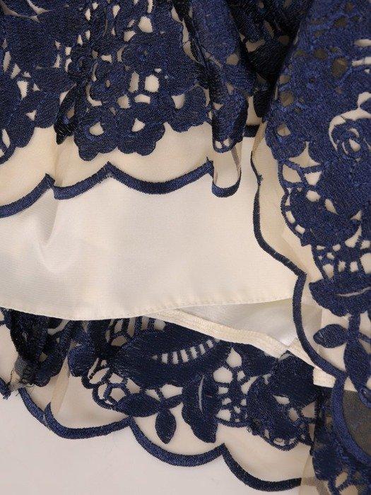 Sukienka wieczorowa z atrakcyjnej koronki Arona I.