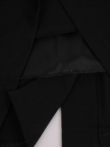 Sukienka wizytowa Benona, damska kreacja w fasonie maskującym brzuch.