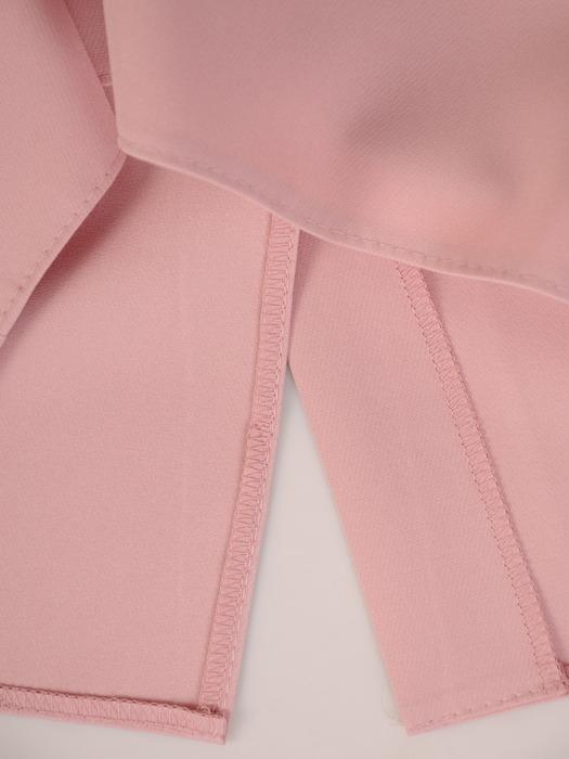 Sukienka wizytowa, elegancka kreacja z łączonych tkanin 21679.