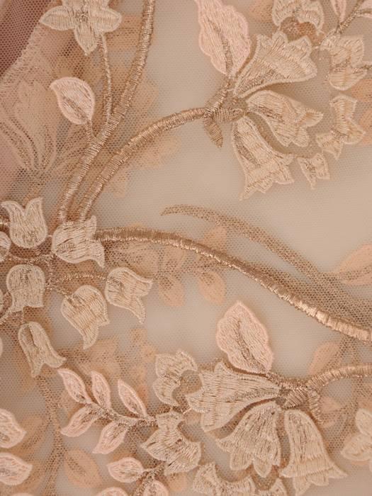 Sukienka wyjściowa, elegancka kreacja z baskinką 27068