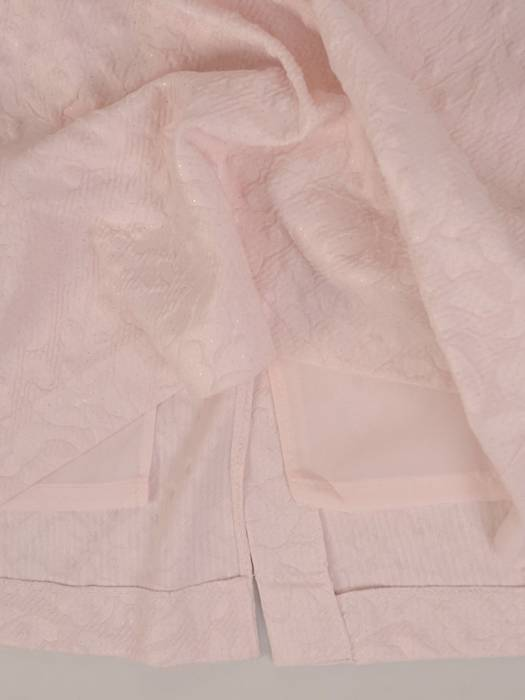 Sukienka wyjściowa, elegancka kreacja z żakardowej tkaniny 26276