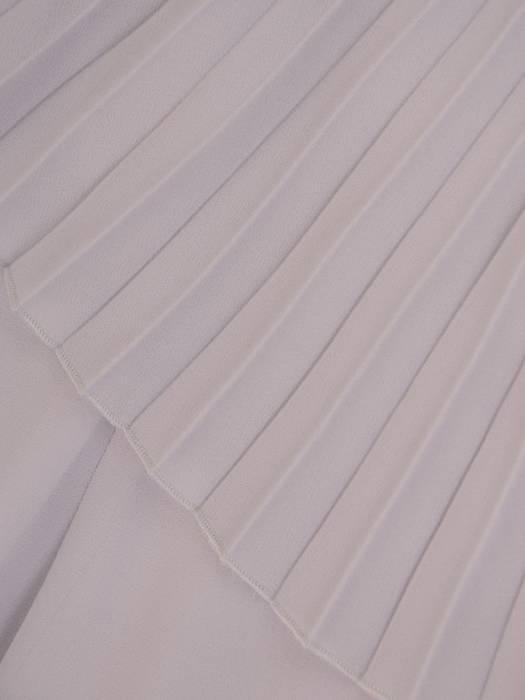Sukienka wyjściowa, szara kreacja w nowoczesnym fasonie 26406