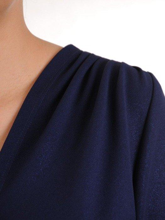 Sukienka z ozdobnym marszczeniem w talii 25224