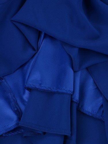 Sukienka z szyfonu Arabella III, zwiewna kreacja w długości do łydki.