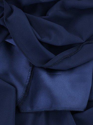 Sukienka z szyfonu Arabella V, zwiewna kreacja w długości do łydki.
