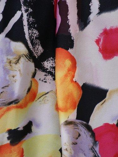 Sukienka z szyfonu Dolorez II, zwiewna kreacja na wiosnę.
