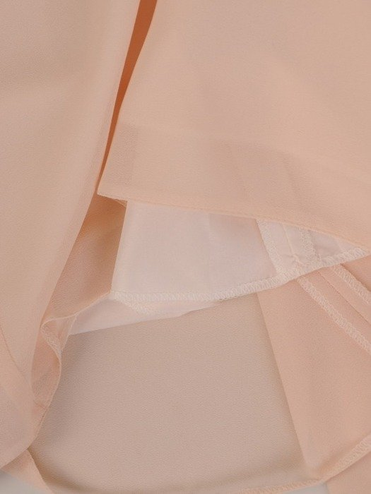 Sukienka z szyfonu, wiosenna kreacja z ozdobnymi rękawami 25795