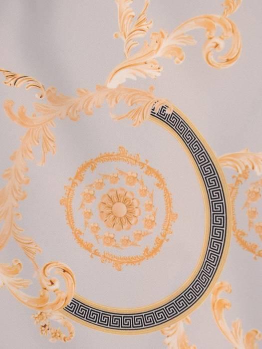 Sukienka z tkaniny, kreacja z kieszeniami 28731
