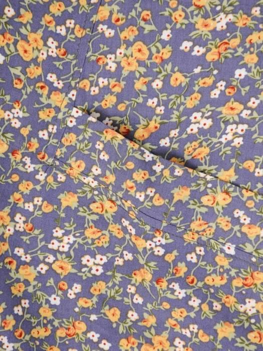 Sukienka z tkaniny, letnia kreacja w kwiatowy wzór 30184