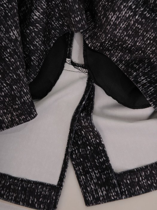 Sukienka z wełny Faustyna, ciepła kreacja na jesień.