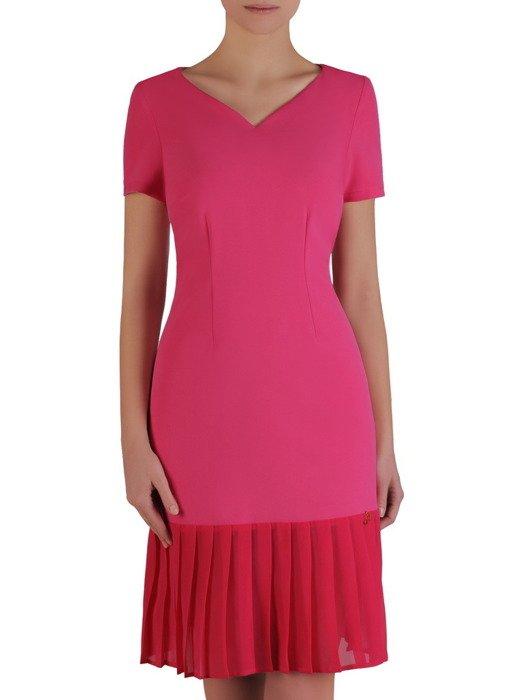 Szyfonowa sukienka z plisami Doris.