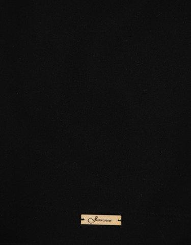 Szykowna sukienka w kolorze czarnym Bożena I, wyszczuplająca kreacja wizytowa.