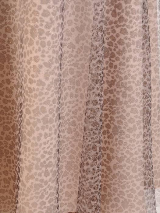 Tiulowa spódnica w panterkę 28593