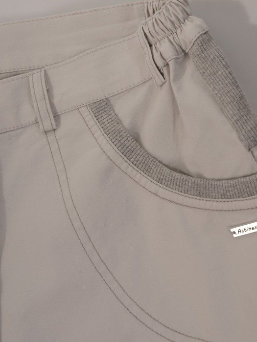 Wąskie spodnie z bawełny 24645