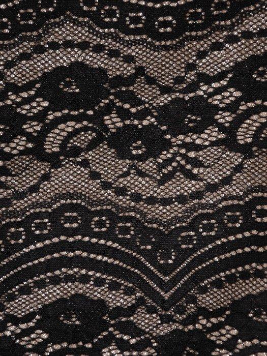 Wyszczuplająca sukienka z koronkowym wzorem 18146.