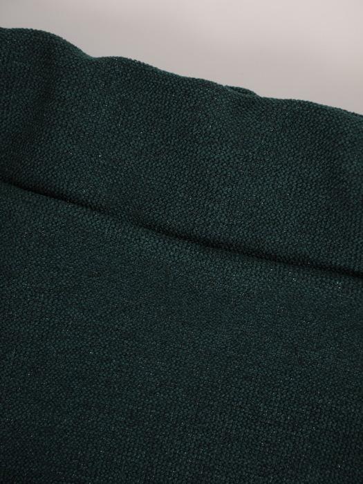 Zielona garsonka z połyskującej dzianiny 22053