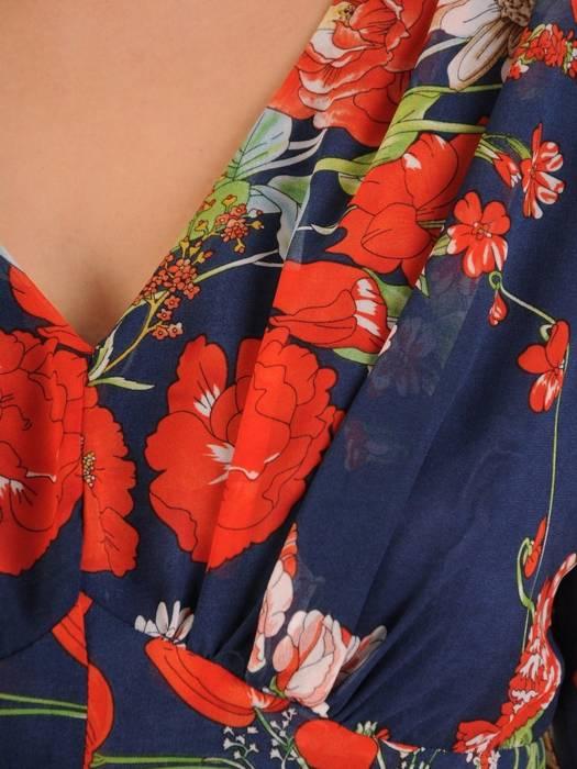 Zwiewna, podkreślająca biust sukienka na każdą okoliczność 27962