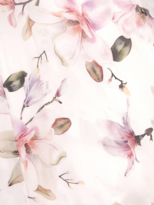 Zwiewna sukienka w kwiaty, kreacja na lato 29940