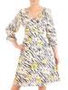 Zwiewna, podkreślająca biust sukienka na wiosnę 29530