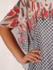 Asymetryczna bluzka w luźnym fasonie 26374