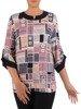 Bluzka damska w geometrycznym wzorze 26538