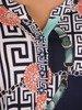 Bluzka damska w oryginalnym wzorze 26612