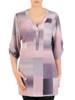 Bluzka, tunika damska w pastelowy wzór 29828