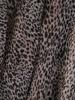 Dwuwarstwowa sukienka ze zwierzęcym nadrukiem 20141